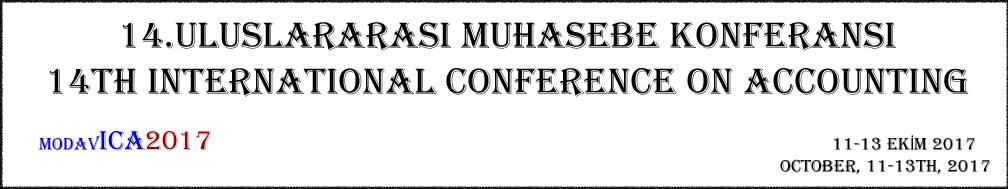 14.Uluslararası Muhasesebe Kongresi